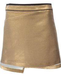 Zadig & Voltaire Fitted Mini Skirt - Lyst