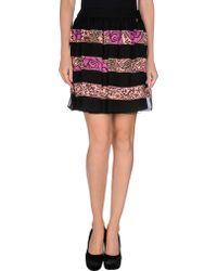 John Galliano Mini Skirt - Lyst