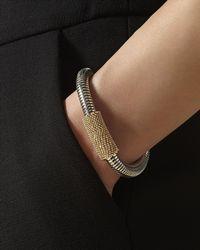 Jaeger - Tubular Textured Bracelet - Lyst