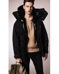 Burberry Two-layer Showerproof Parka - Lyst