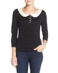 Cece by Cynthia Steffe | Peter Pan Collar Jumper | Lyst