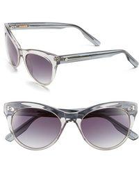 Jason Wu 'jaclyn' 51mm Sunglasses - Light Grey Crystal