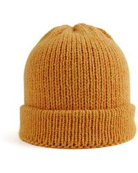 Wool And The Gang Wilson Hat orange - Lyst