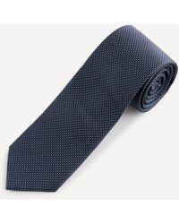 Celio* Cravate à pois - Bleu