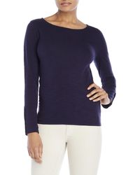 Max 'n Chester - Boatneck Long Sleeve Top - Lyst