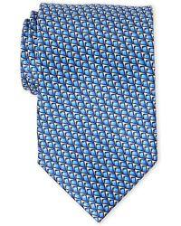 Lanvin - Printed Silk Tie - Lyst