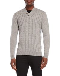 Forte - Cable Knit Cashmere Sweater - Lyst