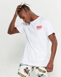 BBCICECREAM Body Shop Short Sleeve Tee - White