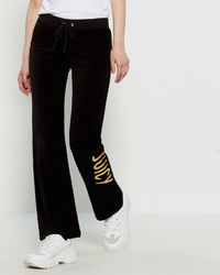8c710db939d Juicy Couture Zuma Velour Pants in Pink - Lyst
