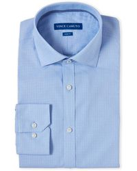 Vince Camuto - Dobby Graph Comfort Stretch Slim Fit Dress Shirt - Lyst