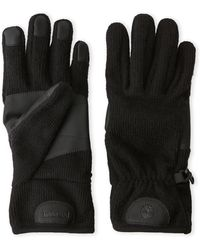 Timberland Knit Touch Screen-Ready Gloves - Black
