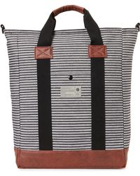 Hex - Black Striped Tote Bag - Lyst
