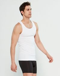 Calvin Klein 3-pack Scoop Neck Muscle Tank - White