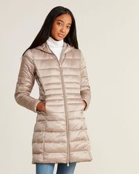 Save The Duck Iris Short Hooded Packable Jacket - Gray