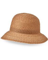 Nine West - Braided Sheer Cloche Hat - Lyst