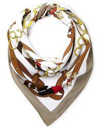 Boutique Moschino - Belts & Olive Oyl Silk Scarf - Lyst