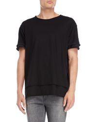 Wlg By Giorgio Brato - Roll Tiered Tee - Lyst