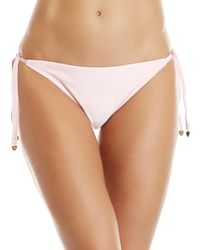Juicy Couture - Velour String Bikini Bottom - Lyst