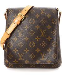Louis Vuitton - Monogram Musette Salsa Long Strap Crossbody Bag - Vintage -  Lyst eb6c6737b040e
