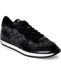 Coach C104 Sneaker In Signature Coach k0uEQdo