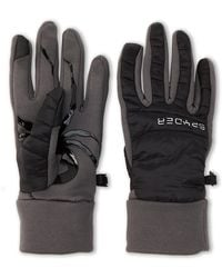 Spyder Black Glissade Hybrid Gloves