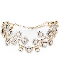Atelier Swarovski - Gold-tone & Silver-tone Arbol Collar Necklace - Lyst