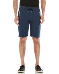 The Kooples Sport - French Terry Drawstring Shorts - Lyst