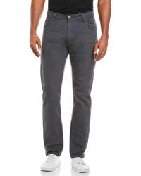 Tokyo Laundry - Five-Pocket Straight Twill Pants - Lyst