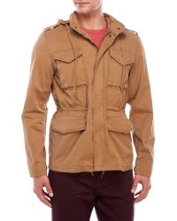 Color Siete - Hooded Four-Pocket Anorak - Lyst