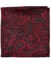 Vince Camuto | Florence Paisley Pocket Square | Lyst