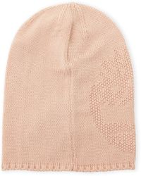 Timberland Magnolia Seed Stitch Slouchy Beanie - Natural