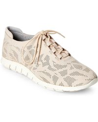 Cole Haan - Brazilian Sand Grand Perforated Sneakers - Lyst