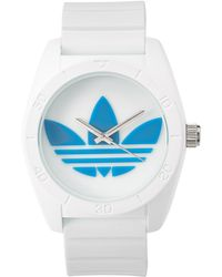 adidas Originals - Adh2921 White & Blue Watch - Lyst