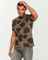 Native Youth Forest Flora Tee - Green