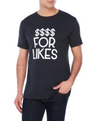 Sub_Urban Riot - Dollars For Likes Tee - Lyst