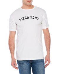 Sub_Urban Riot - Pizza Slut Tee - Lyst