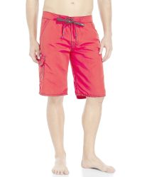 True Religion - Andrew Big T Cargo Board Shorts - Lyst