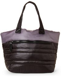 Sondra Roberts | Large Puffer Tote | Lyst