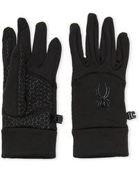 Spyder - Touchscreen Stretch Fleece Gloves - Lyst