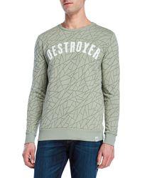 Kultivate - Destroyer Sweatshirt - Lyst