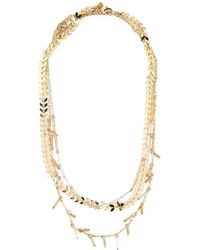Rebecca Minkoff - Gold-tone Layered Necklace - Lyst