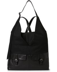 Malloni - Cotton Maxi Backpack - Lyst