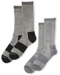 Columbia - Two-pack Wool Crew Socks - Lyst