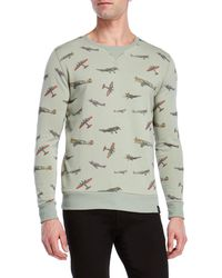 Kultivate - Airplane French Terry Sweatshirt - Lyst