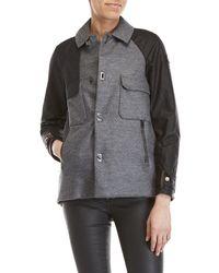Sorel - Wool Raglan Sleeve Down Jacket - Lyst