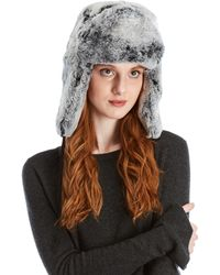 Surell - Real Fur Trapper Hat - Lyst