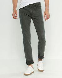 Fidelity Jimmy Slim Straight Jeans - Green