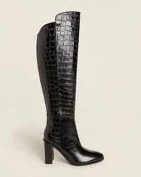 Marc Fisher Women's Lunella High - Heel Tall Boots - Black