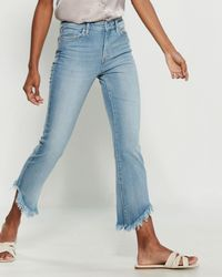 Jessica Simpson Adored Kick Flare Jeans - Blue