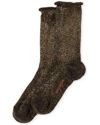 Max Mara - Scalata Lurex Socks - Lyst